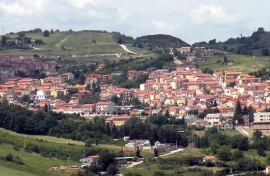 Anzano di Puglia paesaggio